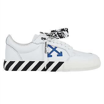 Off White Lage Gevulkaniseerde Witte Sneakers
