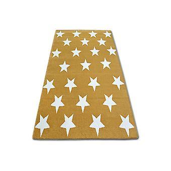 Rug SKETCH - FA68 gold/cream - Stars