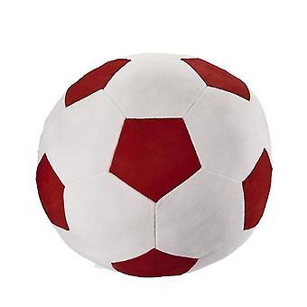 35 * 35Cm rouge + blanc amusant jouets de football pour enfants adaptés aux hommes et aux femmes de tous âges az9646