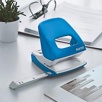 Leitz Hole Punch WOW 5008 Metal 2-hole 30 sheets blue