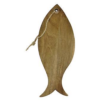 Mango Trähuggbräda, Fiskdesign