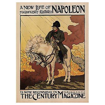 Vintage Artistic Poster The Century Magazine - Kangaspainatus, Seinätaiteen sisustus