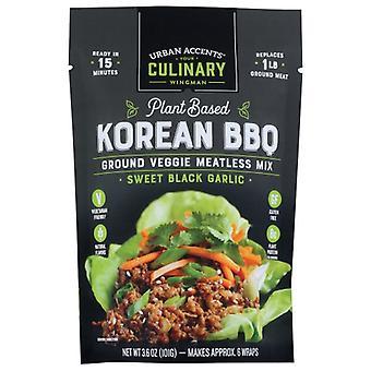 Urban Accents Fleischlose Mischung Koreanisches Bbq, Gehäuse von 6 X 3,6 Unzen