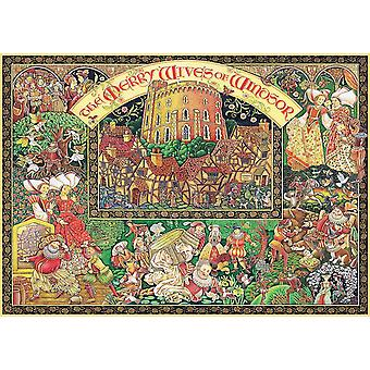 Ravensburger Windsor Wives Jigsaw Puzzle (1000 Pieces)