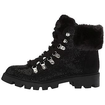LFL by Lust for Life Womens Frosty Fabric Closed Toe Ankle Fashion Boots