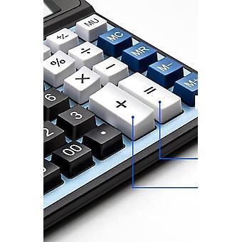 Office Calculator Large Computer Keys Muti Function Computer Power Calculator(blue)