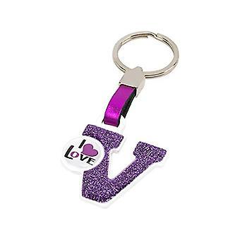 سلسلة المفاتيح حرف V