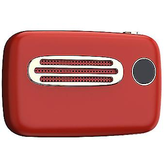 Outdoor sports portable small speaker(Dark Red)
