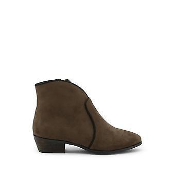 Roccobarocco - Sapatos - Botas de tornozelo - RBSC1JJ01STD-MILITAR - Mulheres - darkolivegreen - EU 37