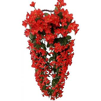 Petal Hanging Artificial Flowers, Artificial Wisteria Hanging Flowers For Wedding Home Decoration