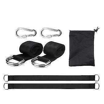 Accessoires de pièces de hamac polyester haute résistance ceinture oscillante sangles de hamac balancements ceinture camping extérieur kit de randonnée accessoires
