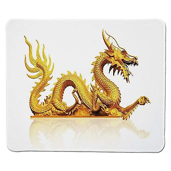 (220X180X3) Yanteng Gaming Mouse Pad Antiguas Decoraciones de China, Estatua de la Legendaria Fantasía del Dragón