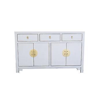 Fine Asianliving Chinees Dressoir Pastel Grijs W140xD35xH85cm - Orientique Collectie
