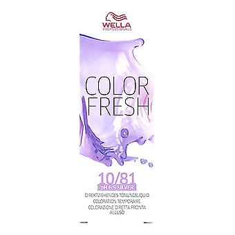 Colore Tinta Semipermanale Fresh Wella 10/81 (75 ml)