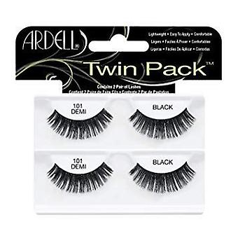 ardell twinpack svart lett å bruke full falske øye vipper