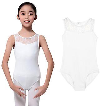 Lapset Lycra Pitsi BodySuit Baletti Dres
