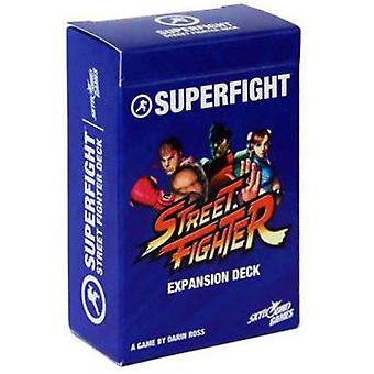 Superfight Street Fighter Deck : 100 utvidelseskort for spillet absurde argumenter, nytes av barn, tenåringer og voksne, 3 eller flere spillere, 8 år