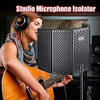 Stúdió felvétel mikrofon izolációs árnyékoló fém back burst szűrő