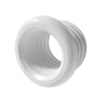 Polypipe Boss Pipe Rubber Connector Pushfit Waste Adapter Reducer White