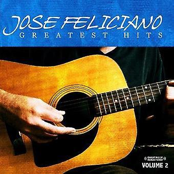 Jose Feliciano - Jose Feliciano: Vol. 2-Greatest Hits CD] USA import