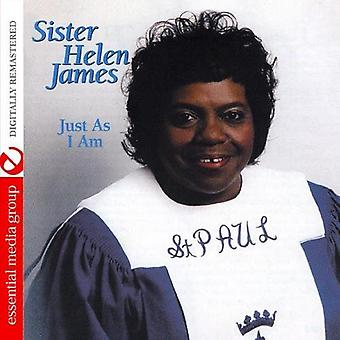 Sister Helen James - Just as I Am [CD] USA import