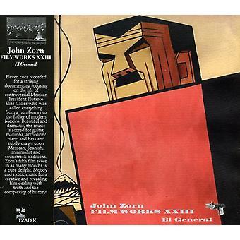 John Zorn - Filmworks Xxiii: El General [CD] USA import