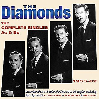 Diamonds - Diamonds: Complete Singles as & Bs 1955-62 [CD] USA import