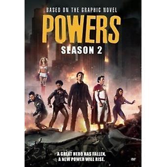Bevoegdheden: Seizoen twee [DVD] USA import