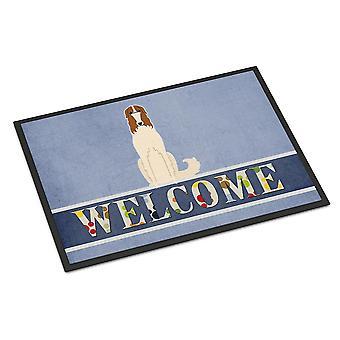 Carolines Treasures  BB5604MAT Borzoi Welcome Indoor or Outdoor Mat 18x27