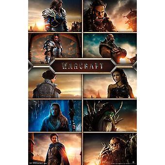 Warcraft - сетка Плакат Плакат Печать