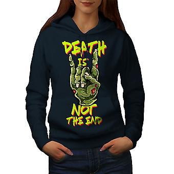 Muerte lema final mujeres NavyHoodie | Wellcoda