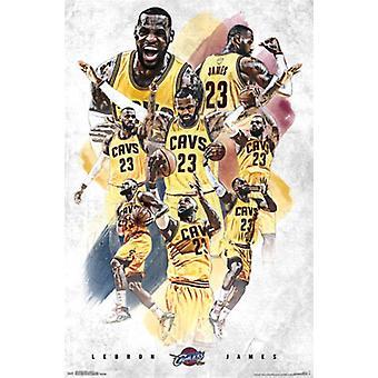 Cleveland Cavaliers - Lebron James 15 Poster Print