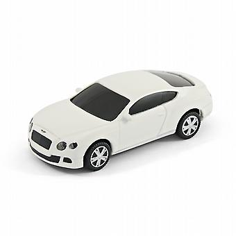 Bentley Continental GT Sports Car USB Memory Stick 8Gb - White