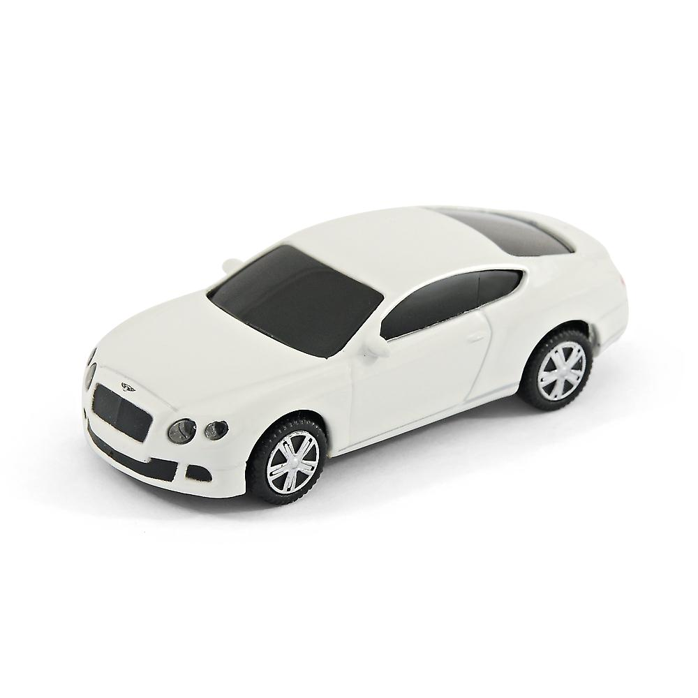 Bentley Continental GT Sports Car USB Memory Stick 8Gb - White
