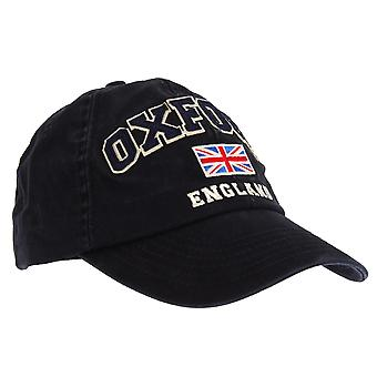 Unisex Navy Blue Oxford England Union Flag Cap