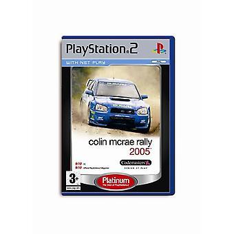 Colin McRae Rally 2005 (PS2)-fabriken förseglad
