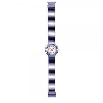 Hip Hop clock watch silicone Numbers lavender HWU0126