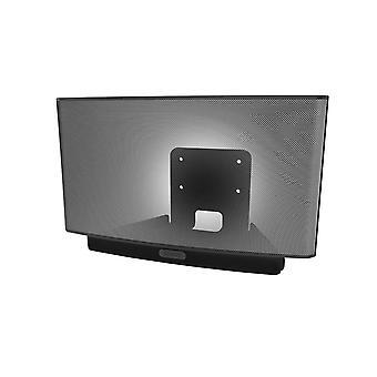 Montaggio a parete Vebos Sonos Play 5 nero