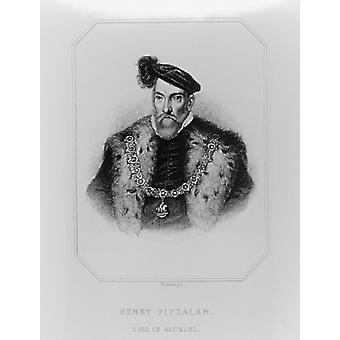 Portrait of Henry Fitzalan, 12th Earl of.. - Art Print