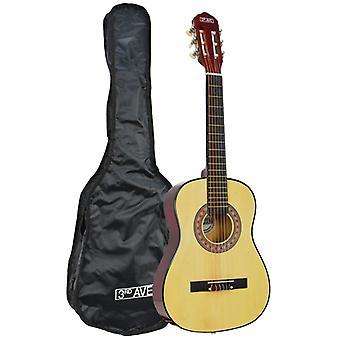 3e avenue demi-taille guitare classique