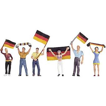 NOCH 15966 H0 figuras fãs Deutsch