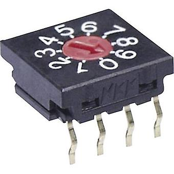 NKK Switches FR01FR16P-S Rotary switch 50 V DC 0.1 A Switch postions 16 1 pc(s)