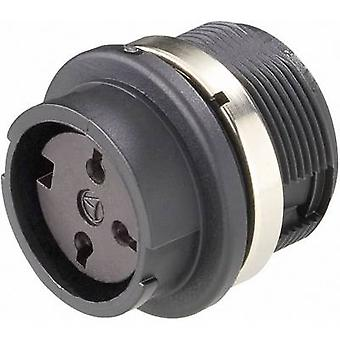 Amphenol T 3427 000 Bullet connector Socket, built-in Series (connectors): C091 Total number of pins: 6 1 pc(s)