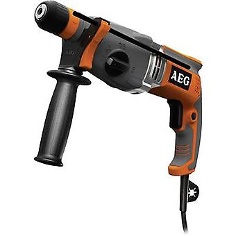 AEG Powertools KH 28 Super XE SDS-Plus-Hammer drill, Hammer drill combo 1010 W incl. case