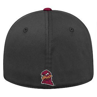 Virginia Tech Hokies NCAA SCHLEPPTAU Auswirkungen schwarz Stretch ausgestattet Hut