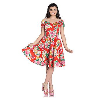 Hell Bunny Marguerita Floral 50s Dress