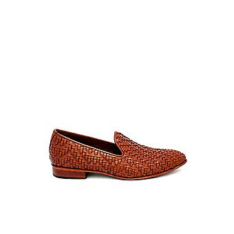 Handgemaakte Premium lederen Rosolite Brown Loafer