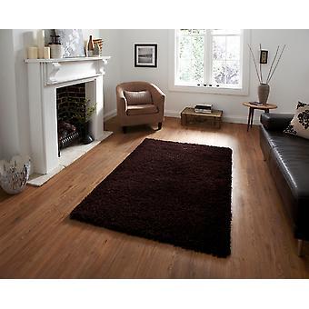 Vista - einfache 2236 Brown Brown Rechteck Teppiche Plain/fast schlicht Teppiche