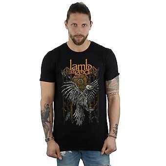 Guds Lam menns Crow skjelett t-skjorte