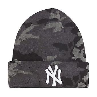 New era kids winter Hat Beanie - NY Yankees dark camo